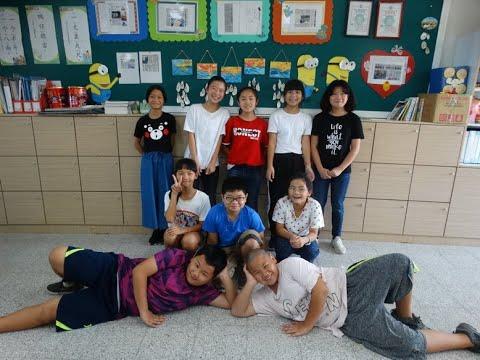108學年度青草孩子教師節敬師愛語