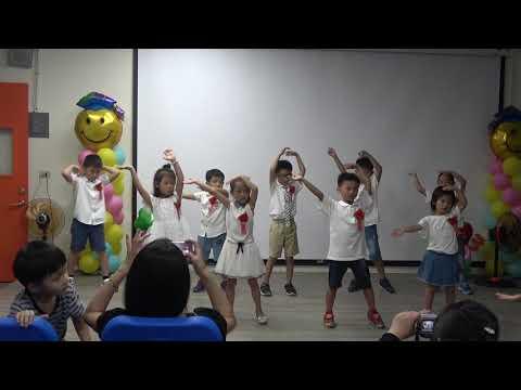 108學年度青草國小畢業典禮精彩畫面_幼兒園舞蹈表演